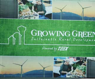 The Growing Green conference series is providing information about opportunities to diversify rural economies and create jobs with new sustainable industries that range from renewable energy and green products and services to nature and ecotourism.