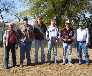 Red River County's first place team.