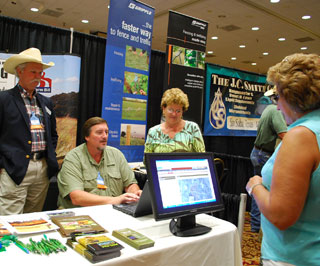 Attendees at the 36th Annual Independent Cattlemen�s Association of Texas convention and trade show had an opportunity to learn more about web soil survey through hands-on demonstrations.