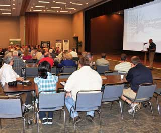 More than 150 landowners attended a recent longleaf pine workshop which focused on growing longleaf pine for timber, wildlife and its aesthetic value.