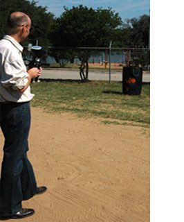 New insecticide application technology for livestock was demonstrated during the 33rd Annual Llano Beef and Range Field Day. VetCap, a company based out of South Africa, is hoping that these products will be available on the U.S. market by 2011.