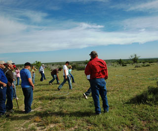 An interactive wildlife station, made available by the Texas AgriLife Extension Service, was part of this year�s Conservation Range Tour hosted by the Spade Ranch and sponsored by the Big Country RC&D.