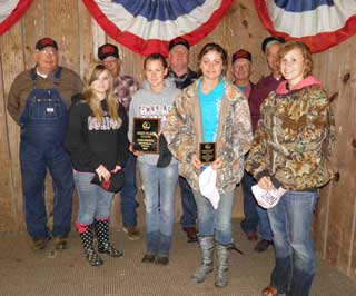 First place in the Land Judging Contest was Avery FFA Team #2.