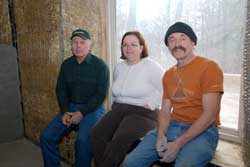 (From left) Richard Lorenz, Lisa Ruller, Tom Arth