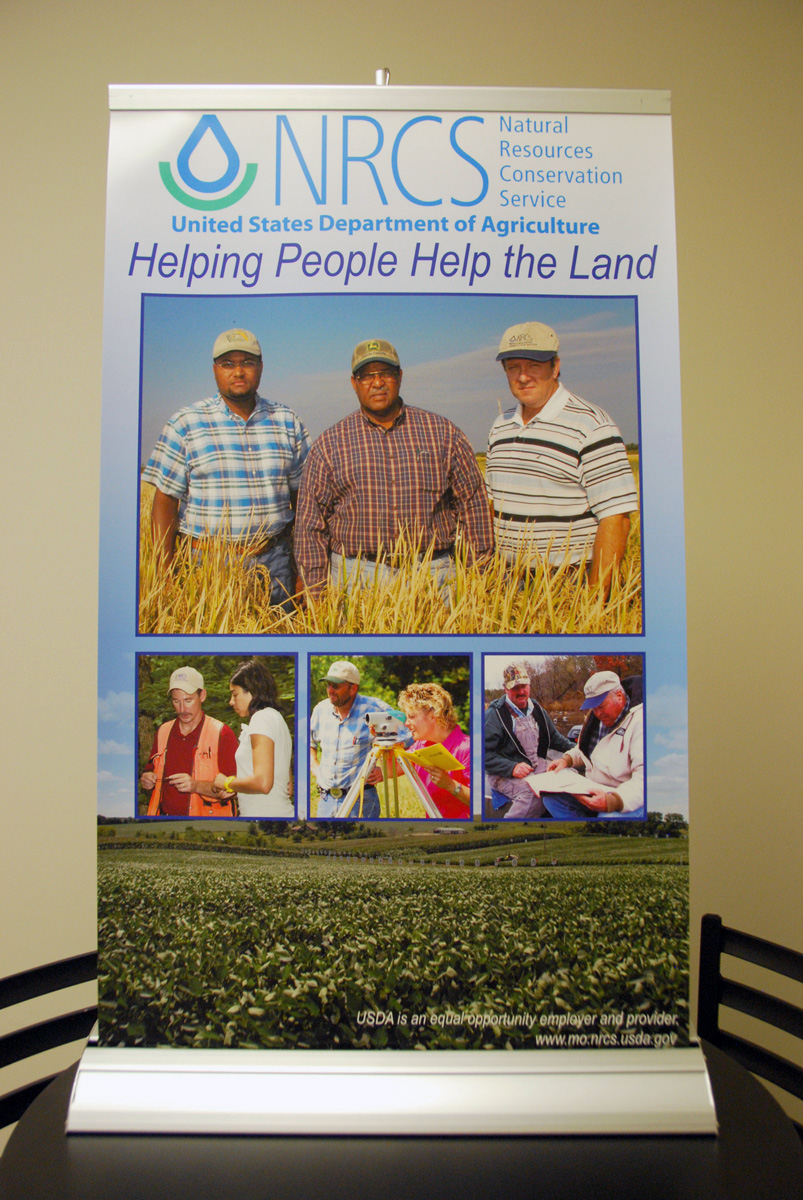 NRCS Tabletop Display