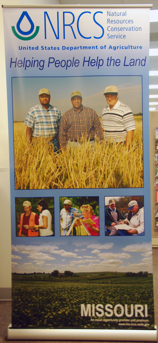 NRCS Bannerstand Display