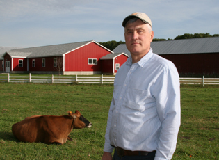 John Kokoski, owner of Mapleline Farm, Hadley, Mass.