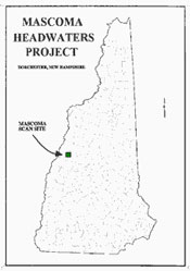 Map of Mascoma Headwaters Project Location