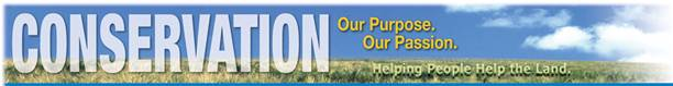 Conservation...Our Purpose. Our Passion. web banner graphic
