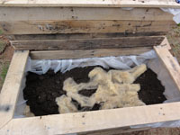 Remnants of Sheep's Wool in Organic Soil