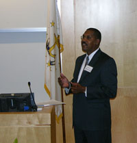 Dr. Homer Wilkes Speaks to Conference Attendees