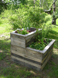 Portable Vegetable Planter