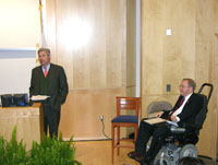 U.S. Senator Whitehouse Introduces U.S. Congressman Langevin