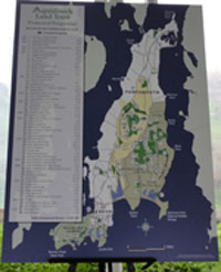 Aquidneck Land Trust Map of Prorperties Protected From Development