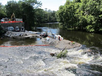 Pawtuxet Falls Dam Construction Removal