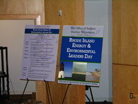 Energy and Environmental Leaders Day Signage