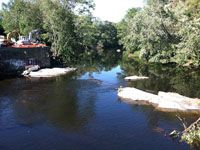 Pawtuxet Falls River After Dam Removal