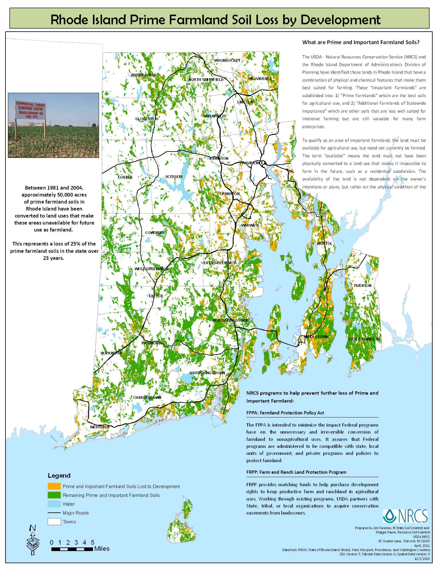 Ri soil survey prime farmlands nrcs rhode island for Soil as a resource introduction