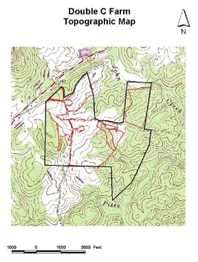 Conservation Plan Topographic Map