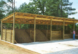 A composting facility. Click photo for full screen view