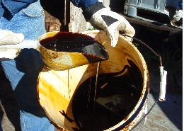 Web image: Sugar cane molasses is a rich source of sugars, is available in organic form, and may be