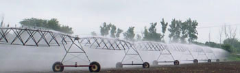 Irrigation system in Indiana