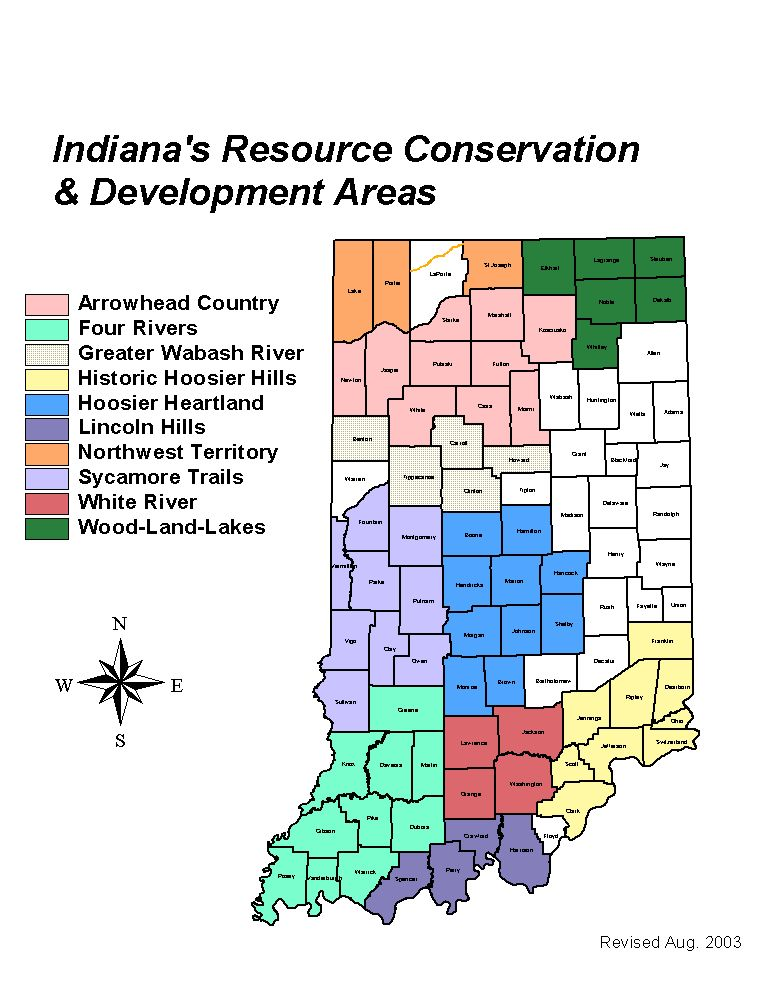 Resource Conservation and Development Councils | NRCS Indiana