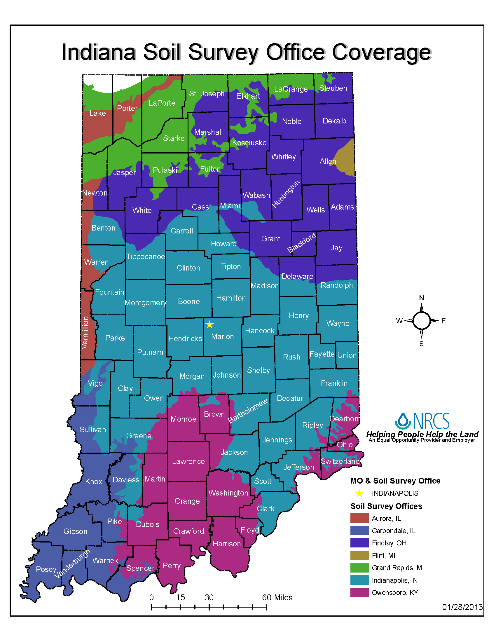 Indiana major land resource area mlra soil survey for Soil quality pdf