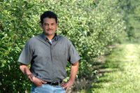 Juan De La Torre is saving time and money with help from the NRCS.