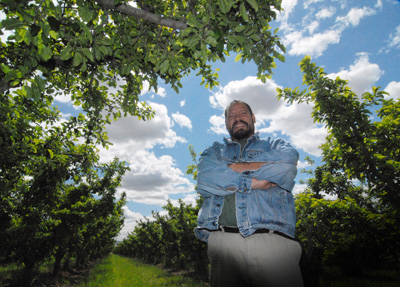 Ten years ago, Adolfo Alvarez purchased his first 80-acre orchard. Almost immediately he began the process of becoming an organic grower. Through the NRCS Environmental Quality Incentives Program, Mr. Alvarez also improved his water management efficiencies by converting to sprinkler irrigation.