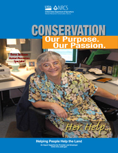 Everyday they bring a passion and purpose to their conservation work - meet Eileen Jackson.