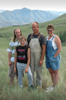 The Scheibe farm has grown in both market value and in intrinsic value for the entire family (from left) Art, Nathan, Ron and Kim.