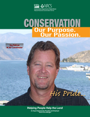 Everyday they bring a passion and purpose to their conservation work - meet Jay Kehne.