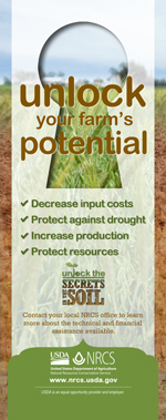 Image: Soil Health Banner Stand