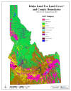 Land Use Cover & County Boundaries