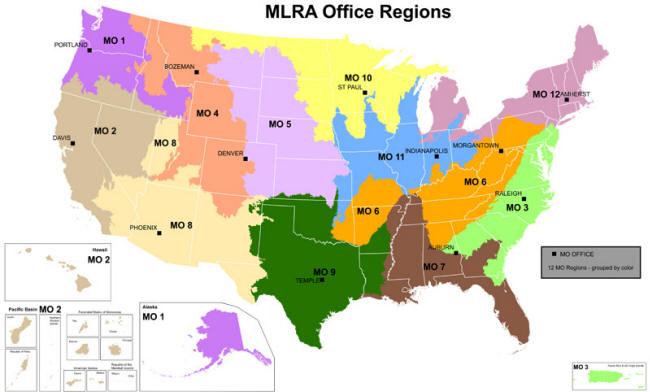 Nrcs major land resource area mlra 6 nrcs colorado for Land and soil resources wikipedia