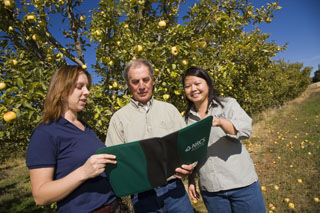 NRCS offers technical and financial assistance to specialty crop growers.