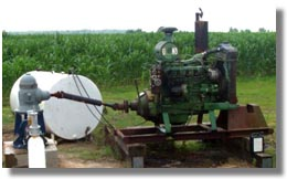 Stationary Irrigation Engine
