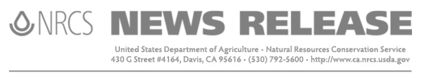 Natural Resources Conservation Service - News Release