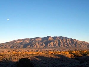 A Picture of Sandia Mountains