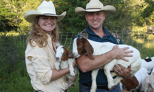 Erin and John Kimbrough, will share opportunities for veterans in farming and ranching at workshop