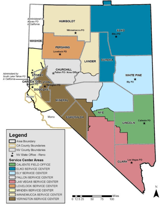 Nevada Products And Natural Resources