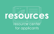 Resource center for applicants