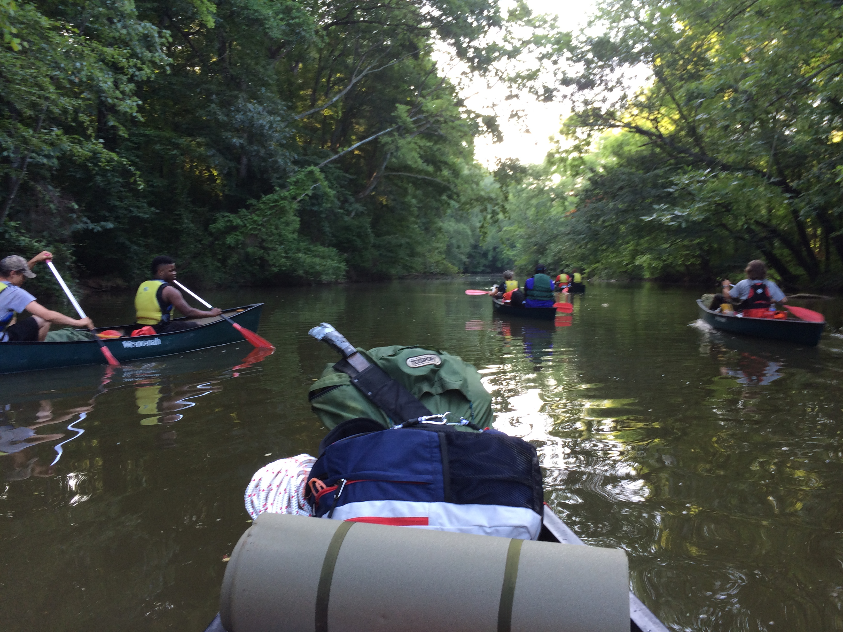Kayaking for Youth Corps
