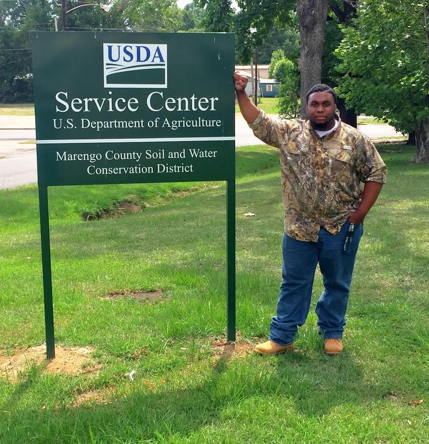 James Penn is a Pathways intern with NRCS in Alabama.