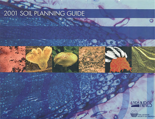 Cover of the 2001 Soils Planner.