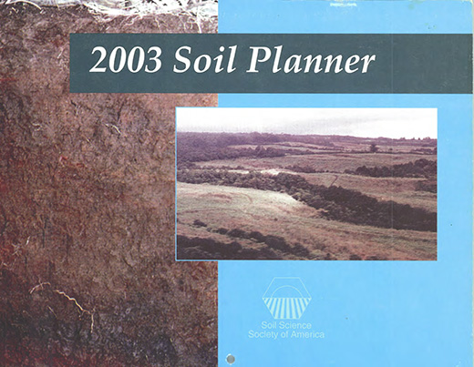 Cover of the 2003 Soils Planner.