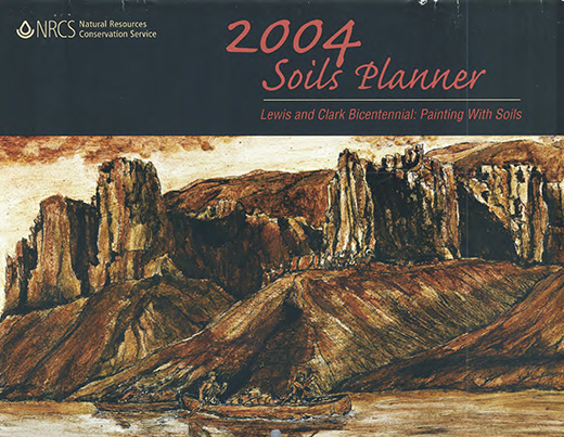Cover of the 2004 Soils Planner.