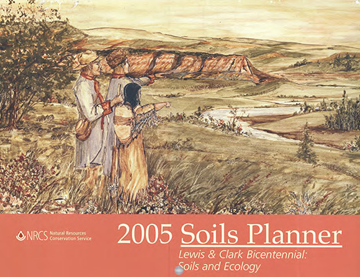 Cover of the 2005 Soils Planner.