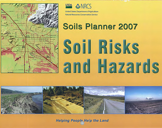 Cover of the 2007 Soils Planner.